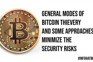 General Modes of Bitcoin Thievery and Some Approaches to Minimize the Security Risks