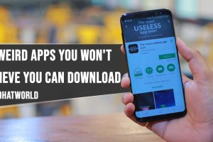 15 Weird Apps You Wont Believe You Can Download