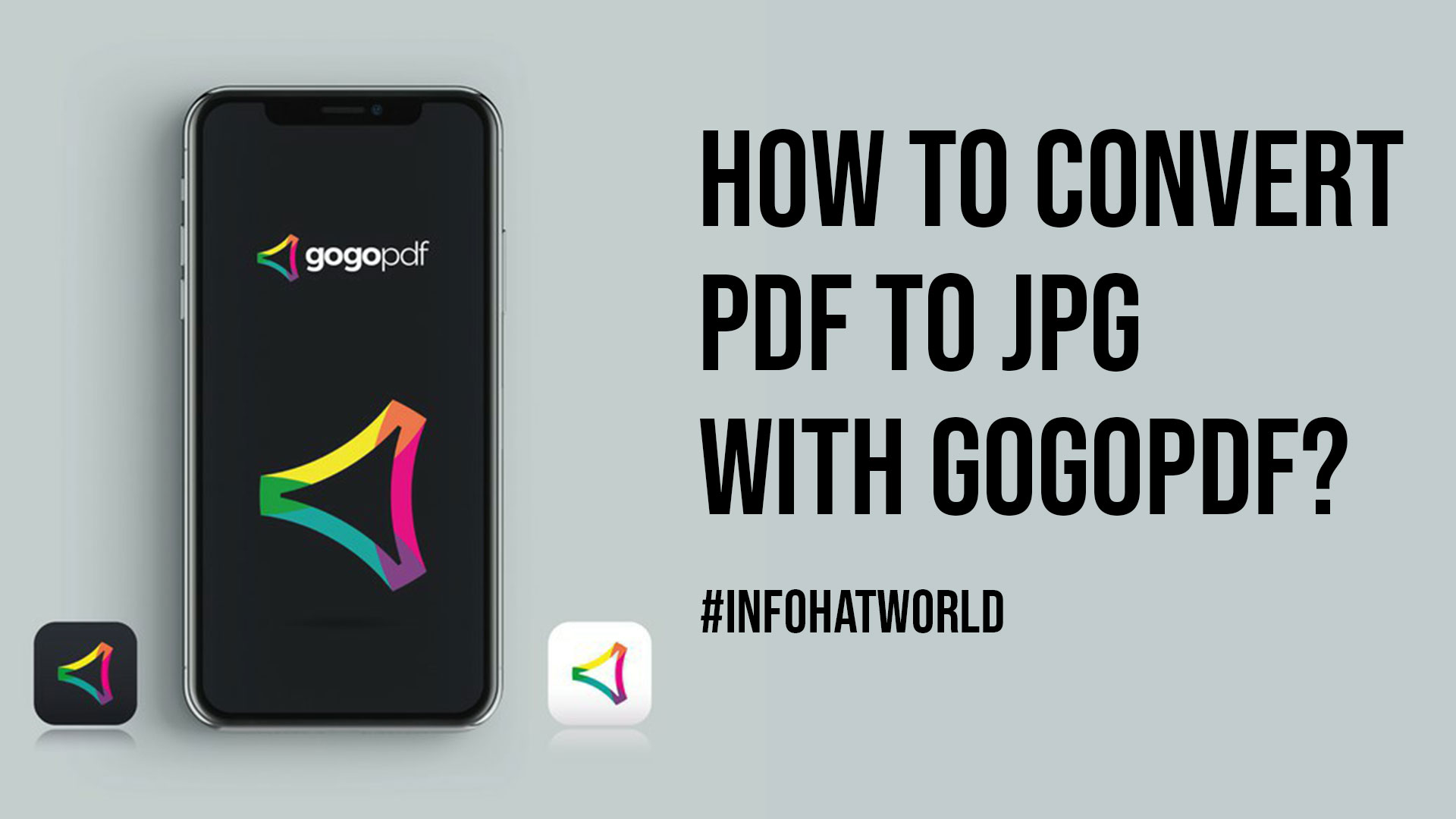 How To Convert PDF To JPG With GoGoPDF