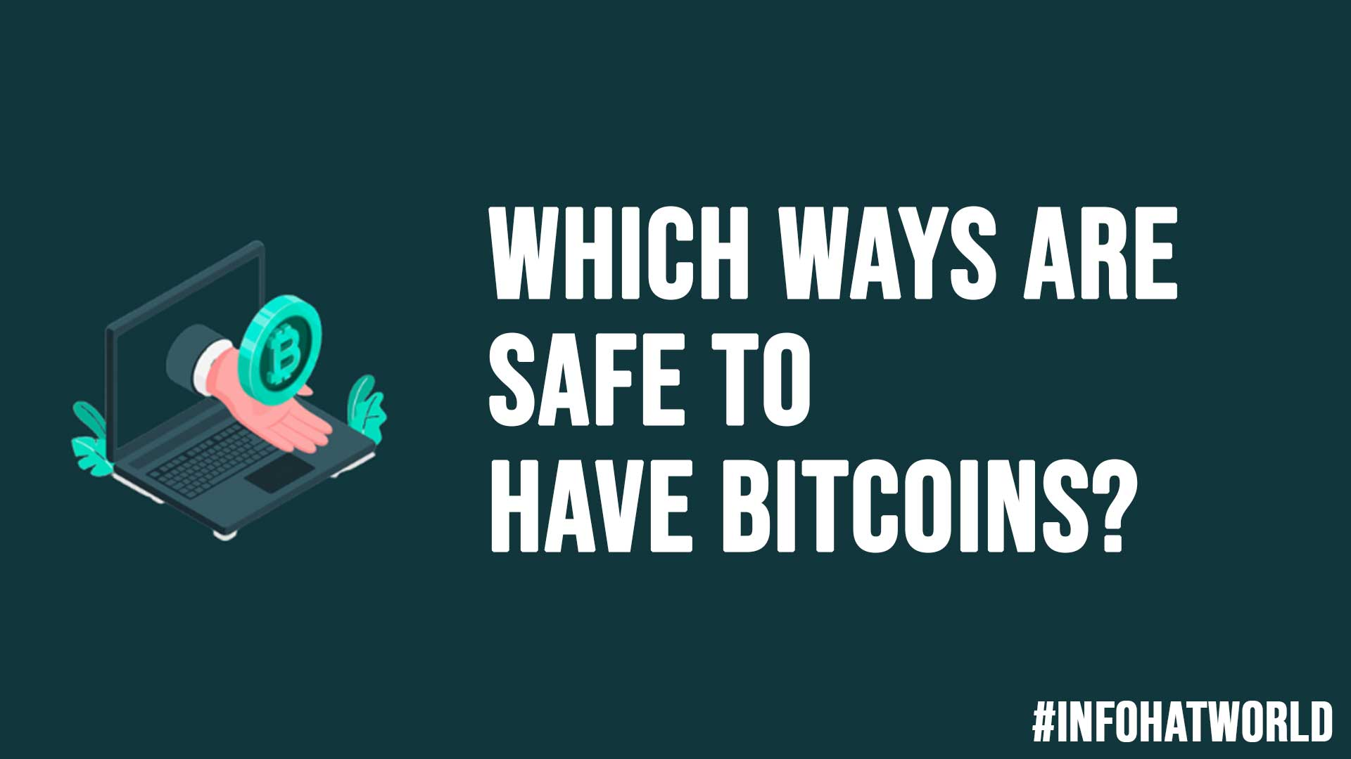 Which Ways Are Safe To Have Bitcoins