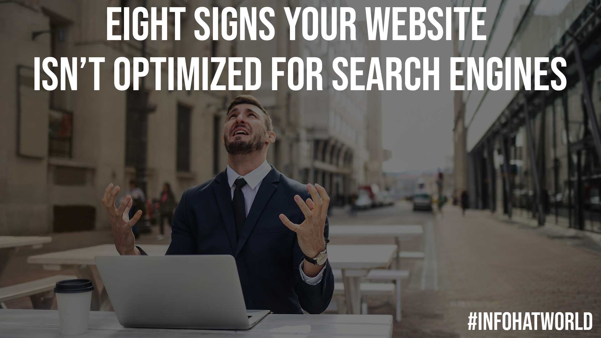 Eight Signs Your Website Isnt Optimized For Search Engines