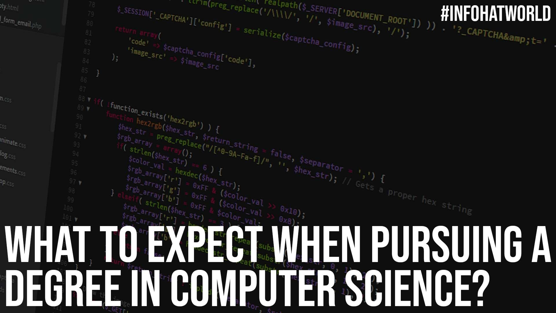 What to Expect When Pursuing a Degree in Computer Science
