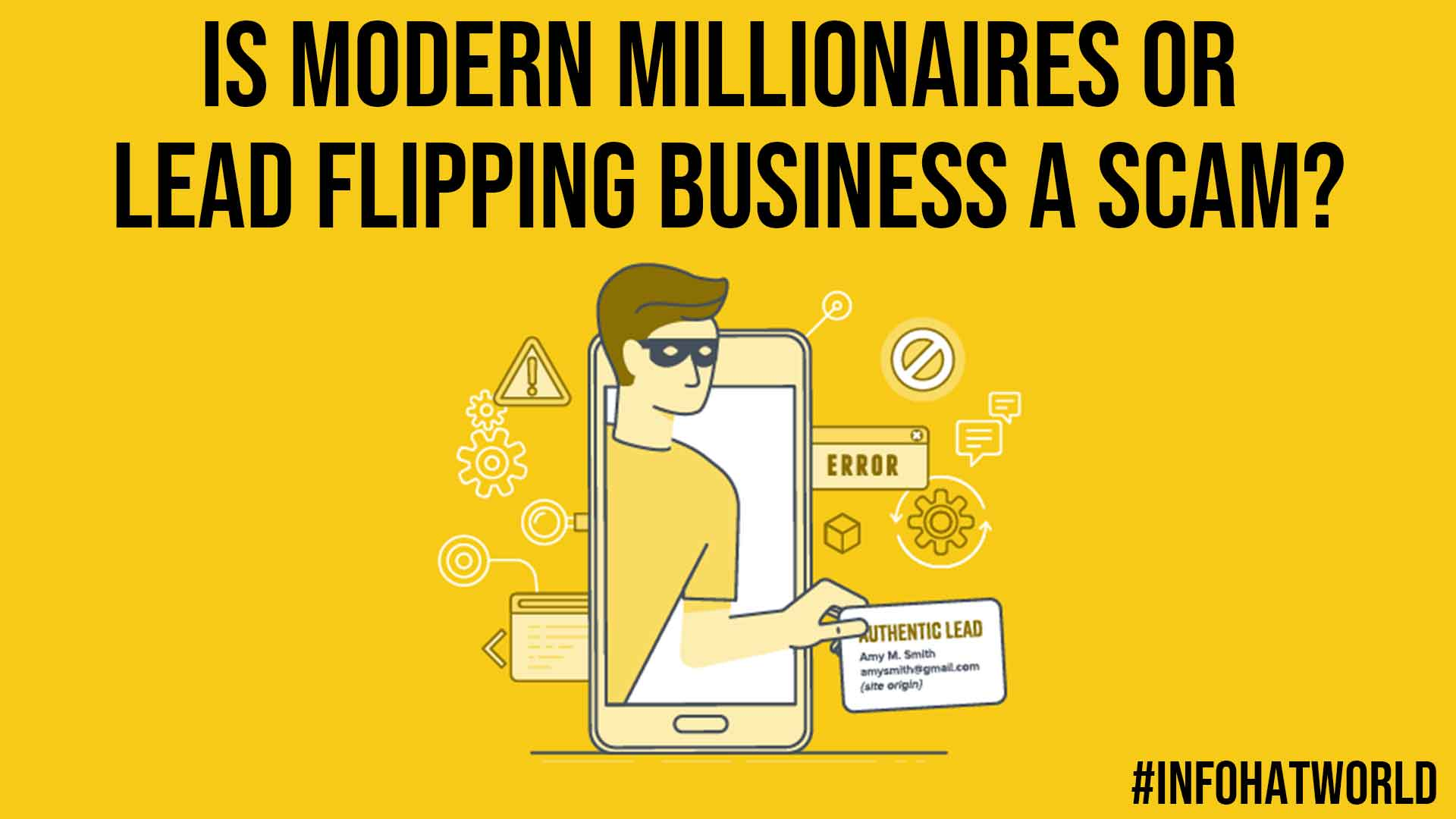 Is Modern Millionaires or Lead Flipping Business a Scam