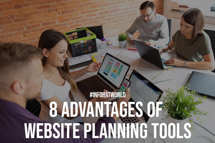 8 Advantages Of Website Planning Tools